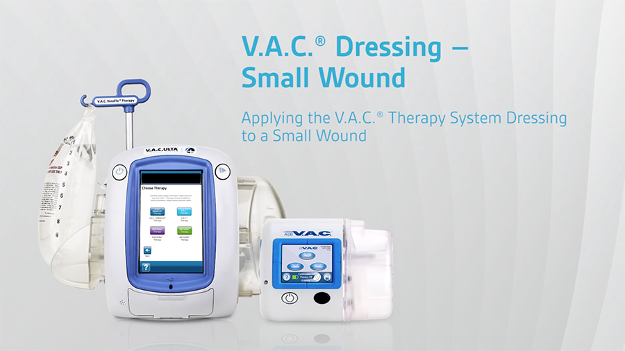 Applying a V.A.C.® Dressing to a Small Wound